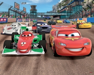 Tapeta 3D Walltastic - DISNEY CARS