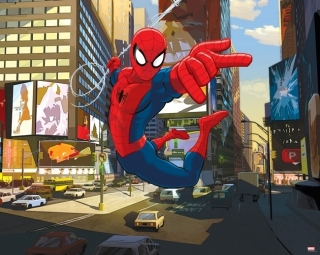 Tapeta 3D Walltastic - SPIDERMAN 3