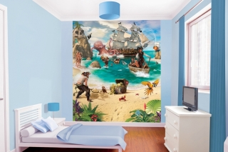 Tapeta 3D Walltastic - PIRATE ADVENTURE